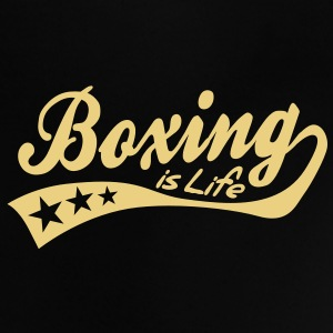 boxing is life - retro T-shirt neonato - Maglietta per neonato