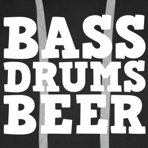 Bass Drums and Beer Sweaters - Mannen Premium hoodie