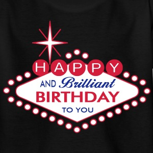 Happy Birthday - Las Vegas Style Shirts - Teenage T-shirt