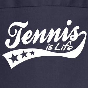 tennis is life - retro Forklæder - Forklæde