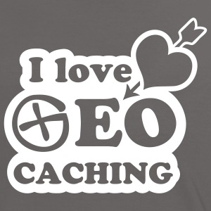I love geocaching - 1color - 2011 Tee shirts - T-shirt contraste Femme