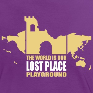 Lost Place - 2colors - 2011 T-shirts - Kontrast-T-shirt dam