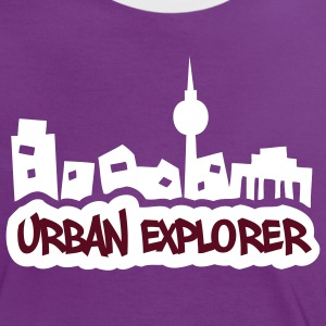 Urban Explorer - 2colors - T-shirt contraste Femme