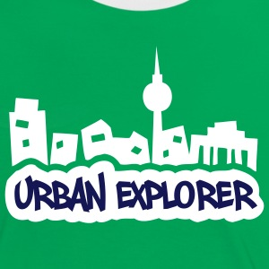 Urban Explorer - 2colors - Frauen Kontrast-T-Shirt