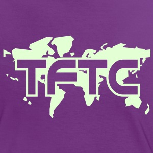TFTC - glow in the dark - Vrouwen contrastshirt