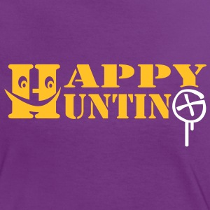 Happy Hunting - 2colors - Women's Ringer T-Shirt