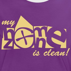my homezone is clean - 1color - T-shirt contraste Femme