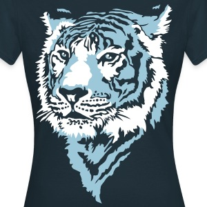 Blue tiger - Women's T-Shirt