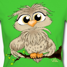 Light green owl T-Shirts