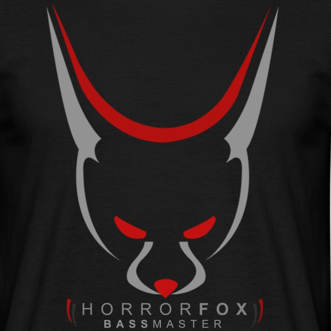 HorrorFox Simple Men's Tee [Black]