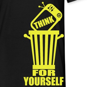 think for yourself T-Shirts - Männer T-Shirt