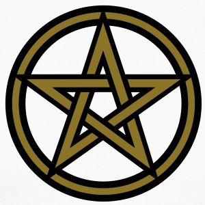 Pentagram amulet- Sign of intellectual omnipotence and autocracy. 2c, Star of the Magi , powerful symbol of protection Maglie a manica lunga - Maglia da baseball a manica lunga da uomo