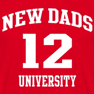 NEW DADS UNIVERSITY 12 T-Shirt WR - Mannen T-shirt
