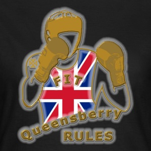 Great Britain Boxing Queensberry Style womens t-shirt - Women's T-Shirt