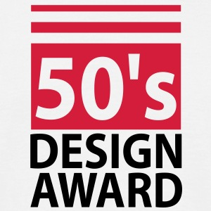 50s design award - birthday shirt men - Herre-T-shirt