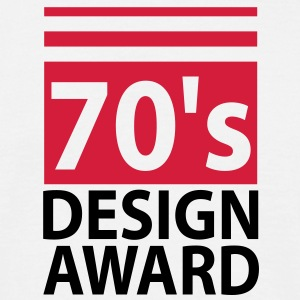 70s design award - birthday shirt men - Koszulka męska