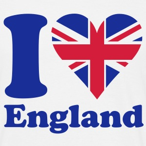 I love England T-Shirts - Men's T-Shirt