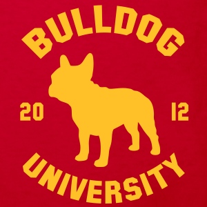 BULLDOG UNIVERSITY  Barneskjorter - Økologisk T-skjorte for barn