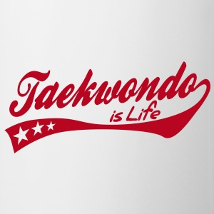 taekwondo is life - retro Muggar - Mugg