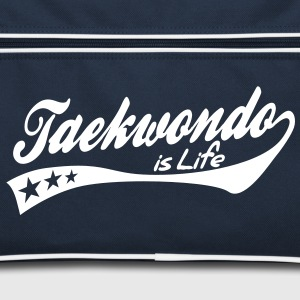 taekwondo is life - retro Tassen - Retro-tas