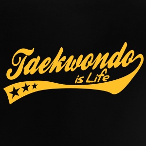 taekwondo is life - retro Babytröjor - Baby-T-shirt