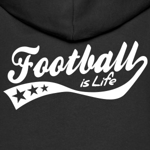 football is life - retro Sweats Enfants - Veste à capuche Premium Enfant
