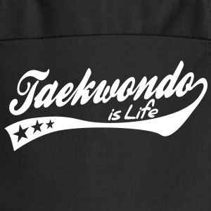 taekwondo is life - retro Tabliers - Tablier de cuisine