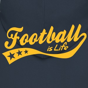 football is life - retro Jacks & vesten - Mannenjack Premium met capuchon