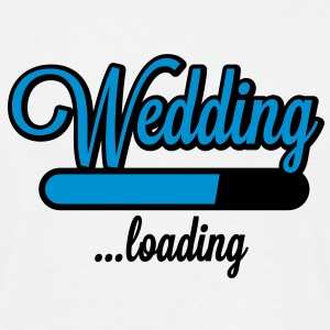 Wedding loading T-Shirts - Herre-T-shirt