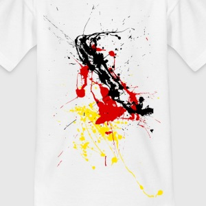 Germany fan Shirt - splashes of color Kids' Shirts - Kids' T-Shirt