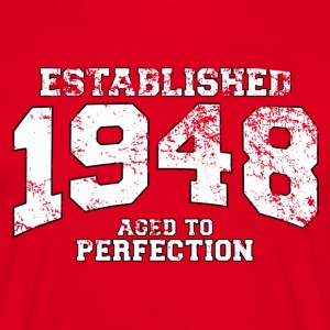 established 1948 - aged to perfection (it) T-shirt - Maglietta da uomo