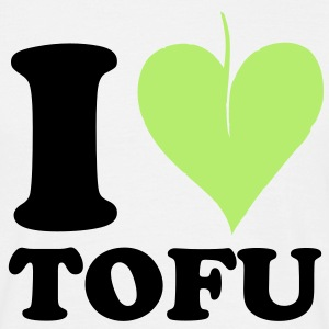 I love Tofu T-Shirts - Men's T-Shirt