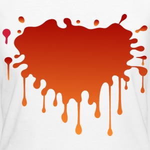 Blood Splat (dd)++ T-shirts - Ekologisk T-shirt dam