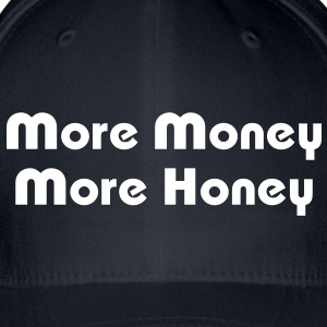 More Money More Honey Caps & Hats - Flexfit Baseball Cap