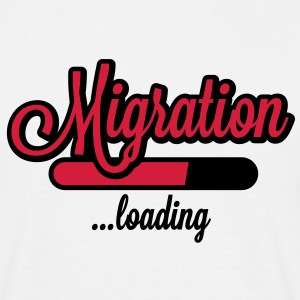 Migration loading T-Shirts - T-shirt Homme