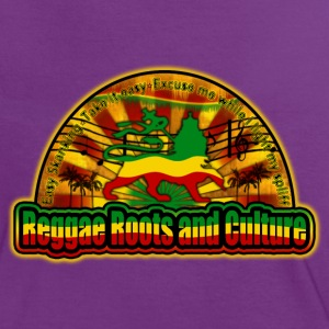 reggae roots and culture easy skanking T-shirts - Kontrast-T-shirt dam