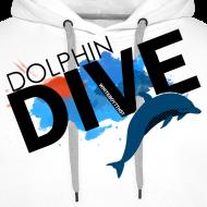 Design ~ MEN'S HOODIE: Dolphin Dive