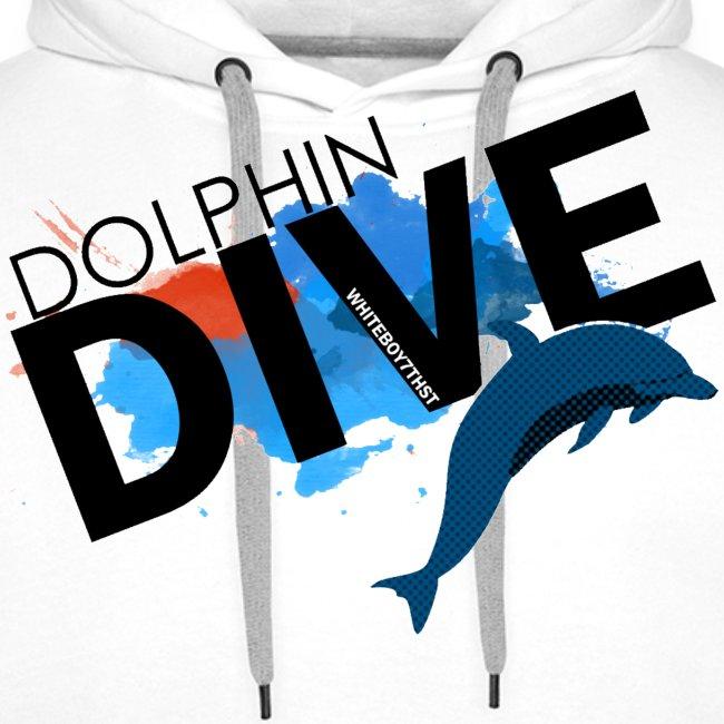 MEN'S HOODIE: Dolphin Dive