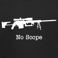 Design ~ Youth Hoodie : No Scope