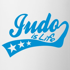 judo is life - retro Muggar - Mugg