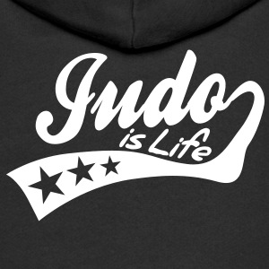 judo is life - retro Sweats Enfants - Veste à capuche Premium Enfant