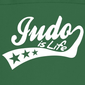 judo is life - retro Delantales - Delantal de cocina