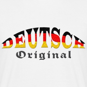 Deutsch - Original - Männer T-Shirt