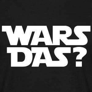 Wars das T-Shirts - Mannen T-shirt