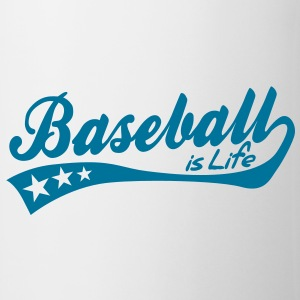 baseball is life - retro Mugs  - Mug