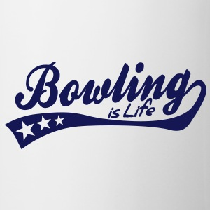 bowling is life - retro Tazze - Tazza