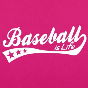 baseball is life - retro Bags  - EarthPositive Tote Bag
