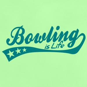 bowling is life - retro Babytröjor - Baby-T-shirt