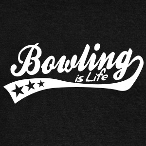 bowling is life - retro Hoodies & Sweatshirts - Women's Boat Neck Long Sleeve Top
