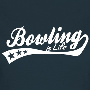 bowling is life - retro T-Shirts - Women's T-Shirt